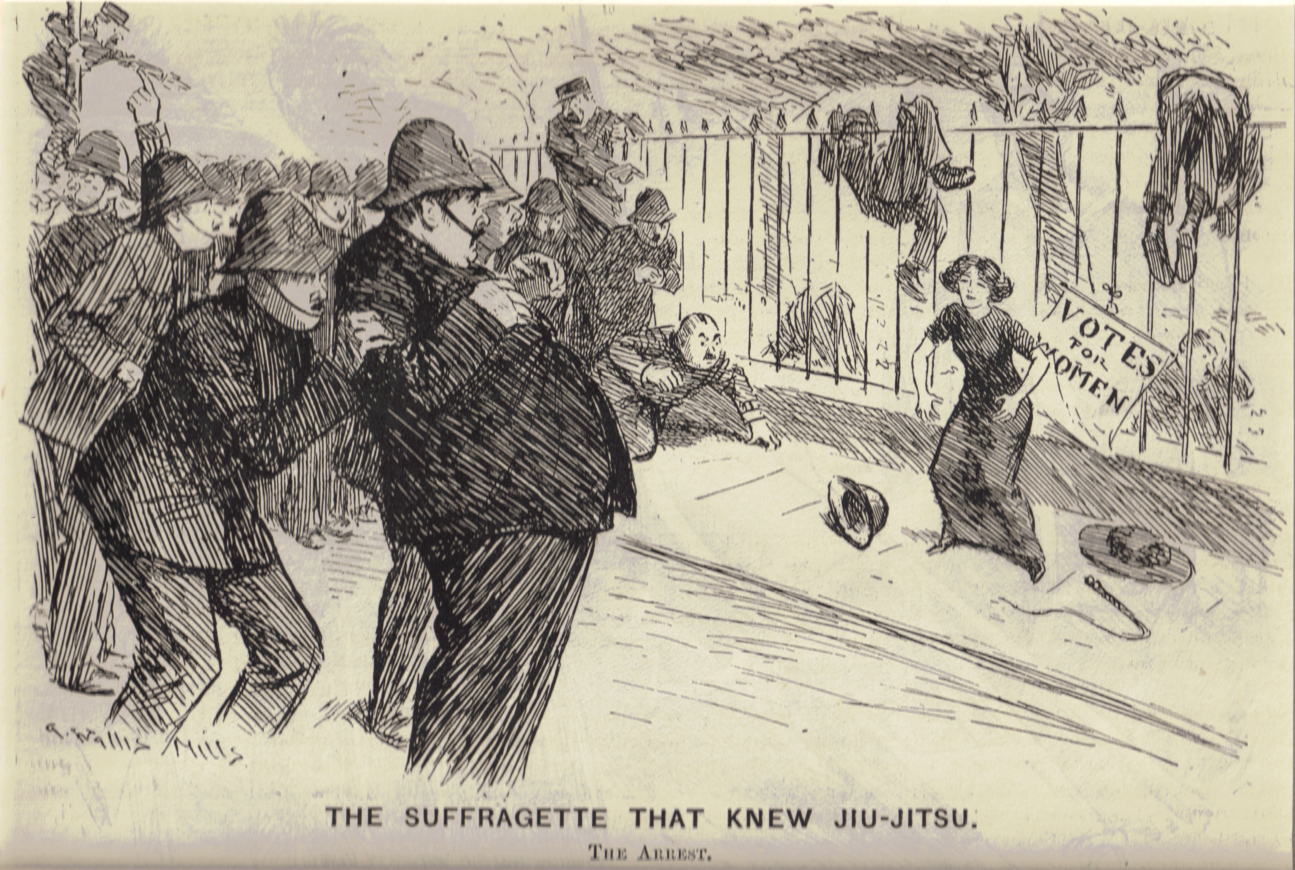 Suffragette that knew jiujitsu