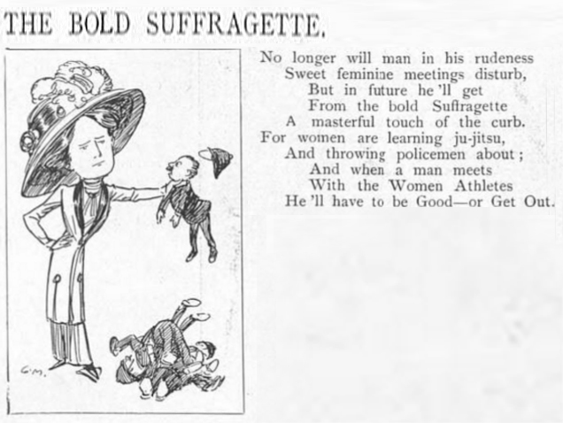 The Bold Suffragette